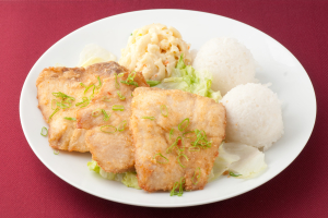 38. Fried Fish Plate - delivery menu