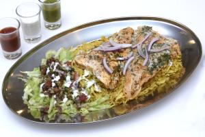 Grilled Fish Platter - delivery menu