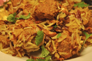 Biryani with Lamb and Vegetable - delivery menu