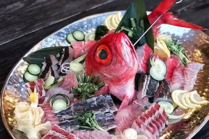 OMAKASE SASHIMI COMBO - delivery menu