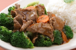 4. Broccoli with Oyster Sauce Lunch - delivery menu