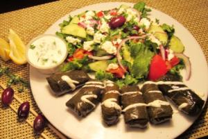 Veggie Dolma Plate - delivery menu