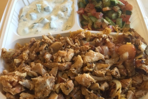 Chicken Shawarma Plate - delivery menu
