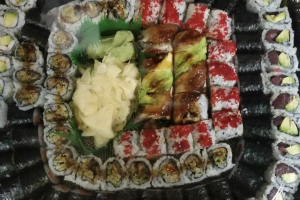 E. Roll Combination Platter - delivery menu