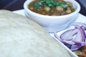 Chole Bhature - delivery menu