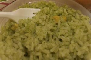 8 oz. Poblano Rice - delivery menu