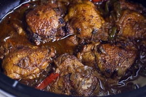 Stew Chicken Dinner - delivery menu
