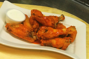 10 Piece Famous Hot Wings - delivery menu