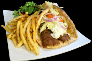 Gyro with French Fries - delivery menu