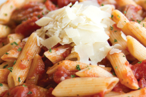 Penne Pomodoro and Gourmet Italian Sausage - delivery menu