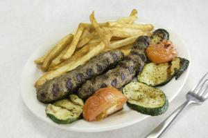 Kufta Kabab Platter - delivery menu