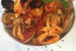 Seafood Pasta - delivery menu