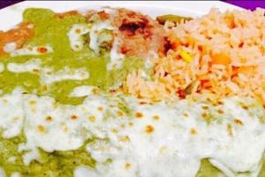 Burrito Verde - delivery menu