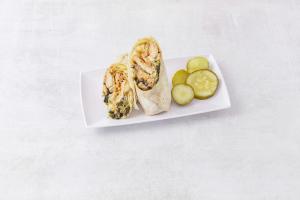 Crispy Chicken Wrap - delivery menu