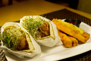 C4. Falafel with Fries - delivery menu