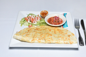 Queso Quesadilla - delivery menu