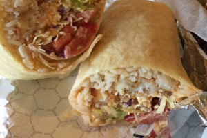 Chipotle Fish Burrito - delivery menu
