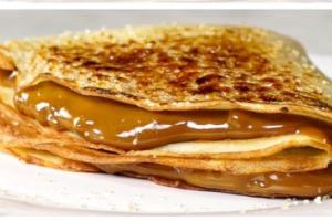 Dulce de Leche Crepe - delivery menu
