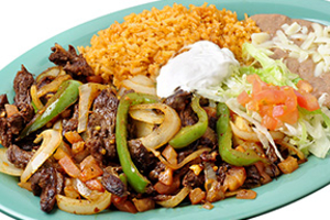 Fajitas  Dinner  - delivery menu