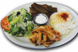 Combo Plate - delivery menu