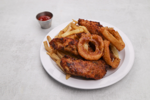 Jumbo Chicken Fingers Plate - delivery menu