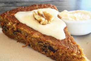 Vegan Carrot Cake with Cream Cheese - delivery menu