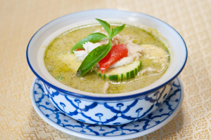 27. Green Curry (not come with rice) - delivery menu