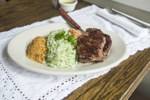 13. Picanha com Arroz de Brocoli - delivery menu