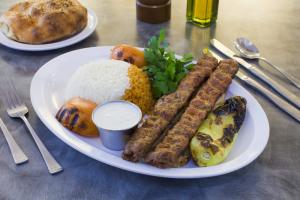 Adana Kebab Platter - delivery menu