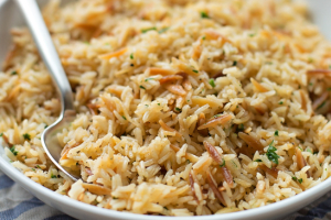 Rice Pilaf - delivery menu