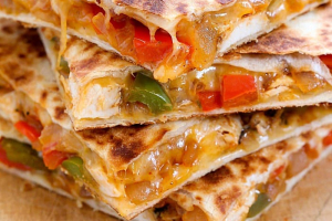Q1. Chicken Quesadilla - delivery menu