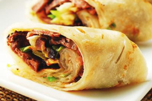 A3. Roast Beef with Scallion Pancake - delivery menu