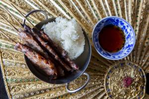 Khao Niaw Moo Ping - delivery menu