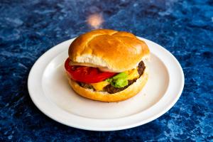 Lemon Greek Burger - delivery menu