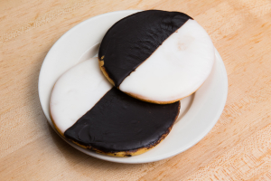 Large Black and White Cookie - delivery menu