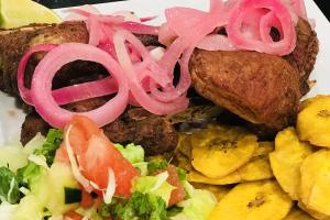 Chuleta Frita - delivery menu