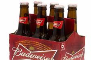 Budweiser (6 pack) ( Must be 21 to purchase.) - delivery menu