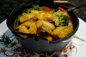 Thai Curry Hot Pot - delivery menu