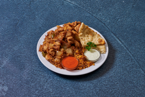 Chicken Gyro Platter - delivery menu