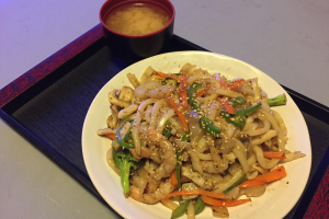 Chicken YakiUdon  (Japanese Fried Udon) - delivery menu