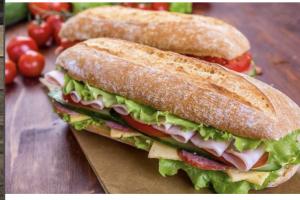 Deluxe Salami Sandwich - delivery menu