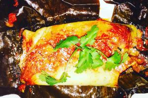 Tamale Oaxaqueño Rojo con Puerco - delivery menu