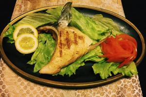 Hamachi Kama - delivery menu
