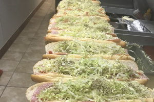Capicola and Provolone Hoagie - delivery menu