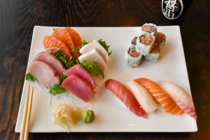 Sushi and Sashimi Lunch - delivery menu