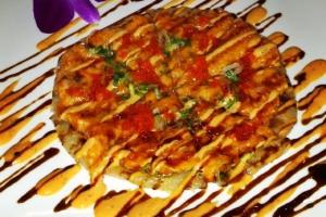 Salmon Pizza - delivery menu