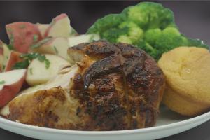 1/4 White Chicken - delivery menu
