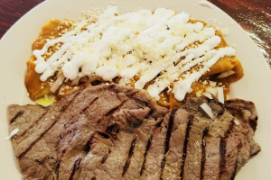Chilaquiles con Carne Asada - delivery menu