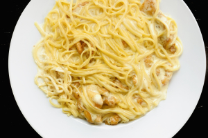 Linguine Alfredo with Chicken - delivery menu