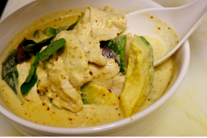 Avocado Curry - delivery menu